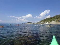 浜に戻る頃には、今まで見ていた景色とは違う景色が目に映るでしょう。